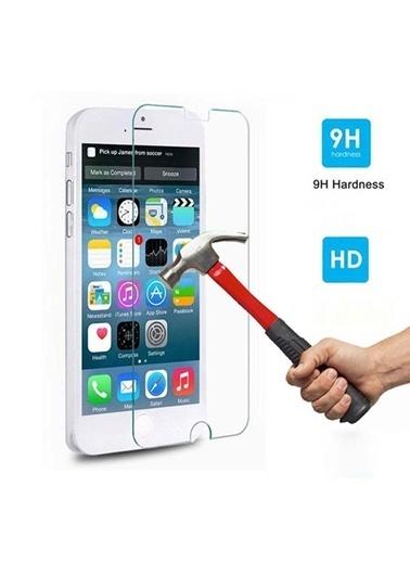 Kingshark iPhone 4S Tempered Glass Çizilmez Cam Ekran Koruyucu Renksiz